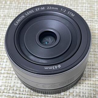 Canon - Canon  キャノンEF-M 22mm F2 STM シルバー単焦点レンズ