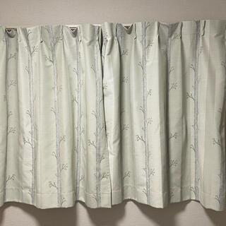 unico - uniko 遮光カーテンとレースカーテンセット2枚組