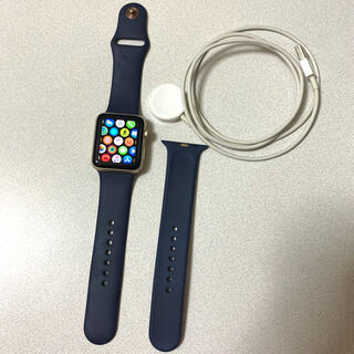 Apple Watch - Apple Watch/Series2/42mm/ゴールド
