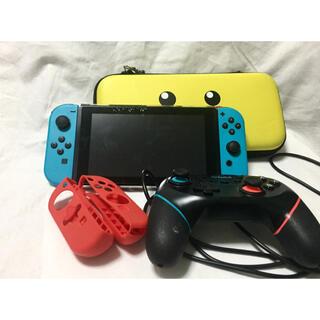 Nintendo Switch - Nintendo Switch ニンテンドースイッチ 本体 ネオン ジャンク