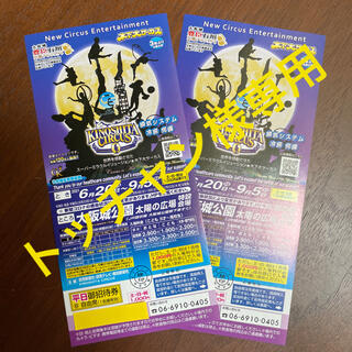 木下大サーカス 大阪 チケット3枚追加分(サーカス)