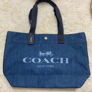 COACH - コーチ coach デニム トートバッグ