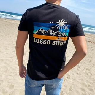 スタンダードカリフォルニア(STANDARD CALIFORNIA)のサーフブランド☆LUSSO SURF トロピカルTシャツ Lサイズ☆RVCA(Tシャツ/カットソー(半袖/袖なし))