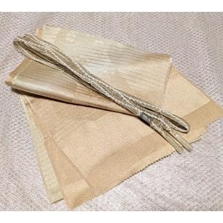 新品 夏絽 正絹 帯揚げ帯締めセット㋒