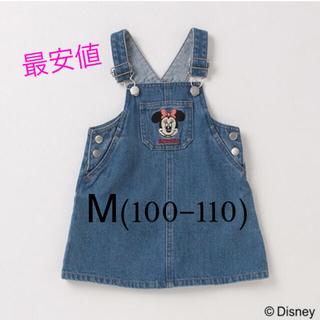petit main - 新品未使用 プティマイン   ミニーマウスサロペットスカート  Disney