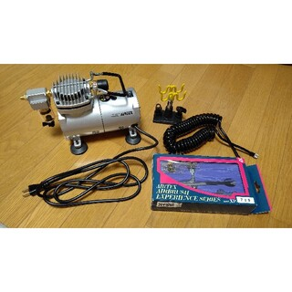 コンプレッサー APC-001 エアブラシ セット(模型製作用品)