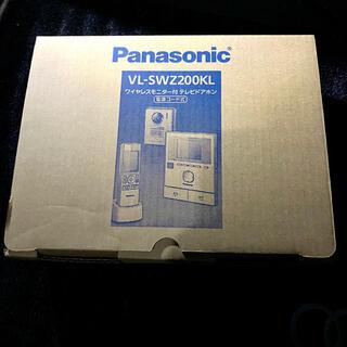 Panasonic - 値下げ☆新品・未開封☆ パナソニック  テレビドアホン VL-SWZ200KL