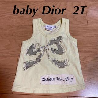 ベビーディオール(baby Dior)のbabyDior タンクトップ 90(Tシャツ/カットソー)