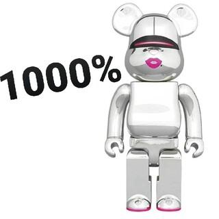 MEDICOM TOY - BE@RBRICK SORAYAMA x 2G SILVER Ver.1000%