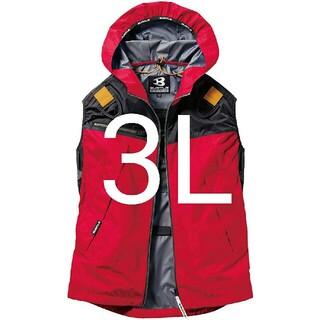 BURTLE - 新品 バートル AC1094 3Lサイズ カーディナル  3L ベスト 空調服