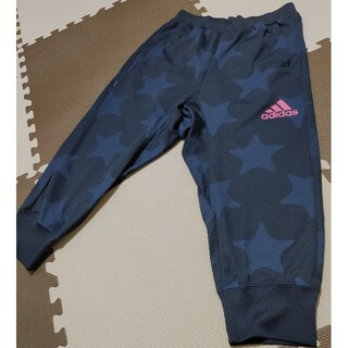 アディダス(adidas)の☆アディダス ハーフパンツ ネイビー 星柄 サイズM 美品 ●AHP-243(トレーニング用品)
