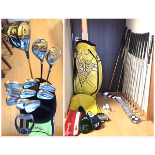 MIZUNO - ミズノ×コブラ等本格派超豪華男性ゴルフクラブフルセット13本美品 フレックスS