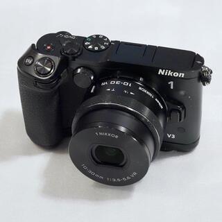 ニコン(Nikon)のニコン Nikon 1 V3・10-30mm VR・グリップ・FT1アダプター(ミラーレス一眼)