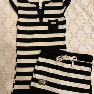 ドルチェアンドガッバーナ(DOLCE&GABBANA)の美品🤍DOLCE & GABBANAセットアップ(Tシャツ(半袖/袖なし))