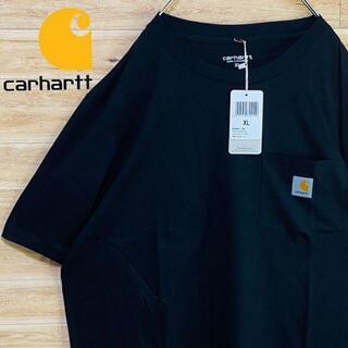 carhartt - ③【新品未使用】カーハートCarhartt黒tシャツXL半袖ワンポイントポケット