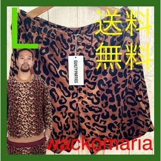 ワコマリア(WACKO MARIA)の【L】21ss 新品未使用 ワコマリア アロハショーツ レオパード(ショートパンツ)