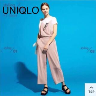 ユニクロ(UNIQLO)のユニクロ キャミソールサロペット S(サロペット/オーバーオール)