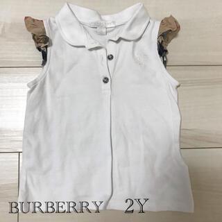 バーバリー(BURBERRY)のバーバリー 2Y(Tシャツ/カットソー)