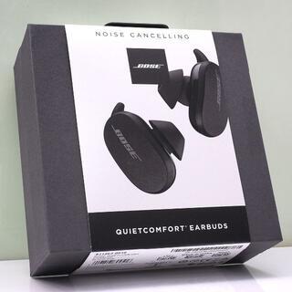 ボーズ(BOSE)のオマケ付 保証残あり BOSE QuietComfort Earbuds 黒(ヘッドフォン/イヤフォン)