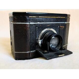 一眼レフ NationalGraflex 6×7判 1930年代 テッサー(フィルムカメラ)