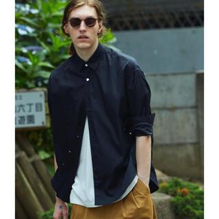 オーバーサイズレギュラーシャツ MAISON SPECIAL/メゾンスペシャル