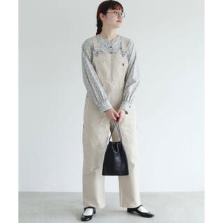 fig London - fig London *COTTON SERGE overall オーバーオール