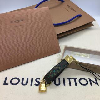 LOUIS VUITTON - 未使用 ルイ・ヴィトン 携帯ストラップ モノグラムペルフォ