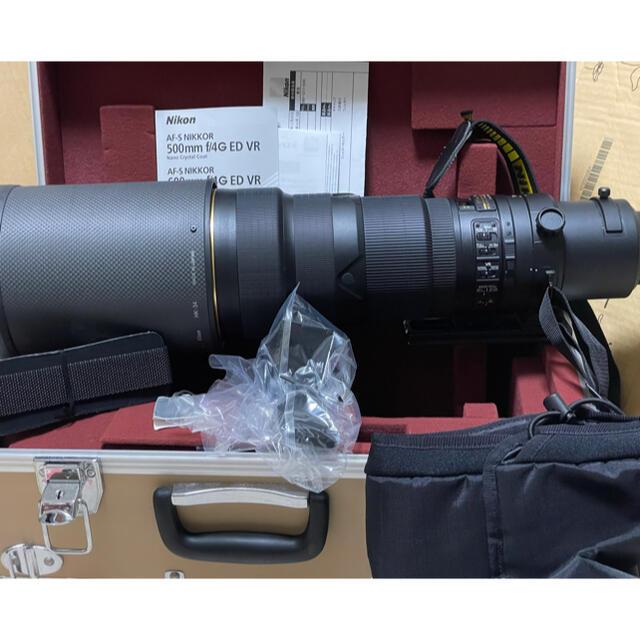 Nikon(ニコン)のNikon 単焦点レンズ AF-S NIKKOR 500mm f/4G ED スマホ/家電/カメラのカメラ(レンズ(単焦点))の商品写真