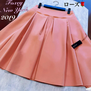 FOXEY - フォクシー FOXEY スカート紙タグ有り✨2019年人気のローズカラー🌹40