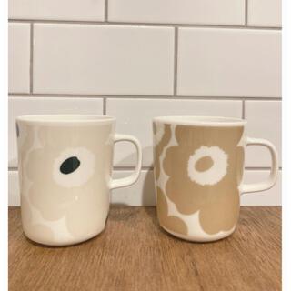 marimekko - マリメッコ marimekko マグカップ ベージュ