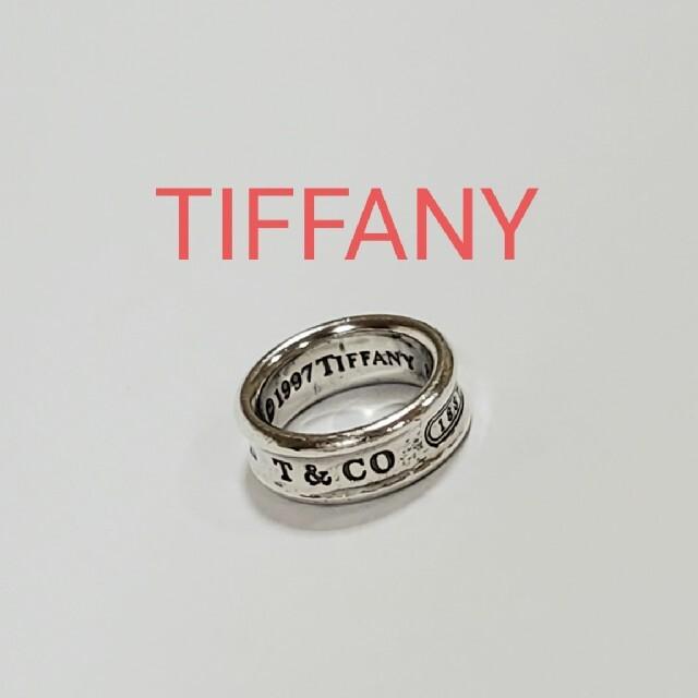 Tiffany & Co.(ティファニー)のTIFFANY ナロー リング 指輪 シルバー 925 ティファニー 正規 レディースのアクセサリー(リング(指輪))の商品写真