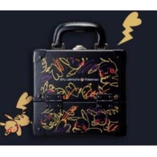 shu uemura - シュウウエムラ ピカチュウメイクボックス