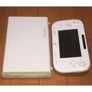Wii U - 任天堂 Wii U 本体 32GB + ゲームパッド ホワイト