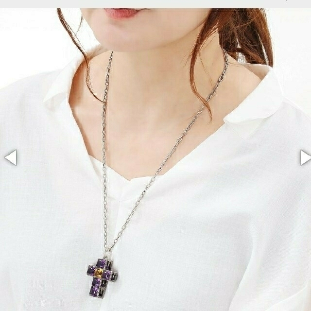 Gucci(グッチ)の売り切り値下げ❗GUCCIGキュービッククロスペンダント メンズのアクセサリー(ネックレス)の商品写真