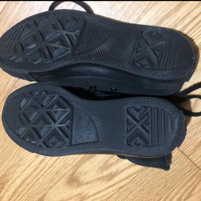 CONVERSE(コンバース)のconverse♡ハイカット♡スニーカー♡オールスター♡ブラック レディースの靴/シューズ(スニーカー)の商品写真