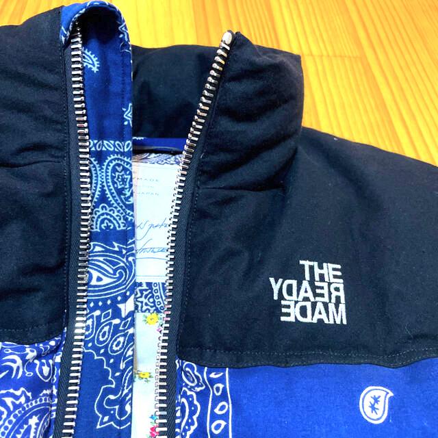 LADY MADE(レディメイド)の【GRE様検討】READYMADE バンダナダウンジャケット メンズのジャケット/アウター(ダウンジャケット)の商品写真