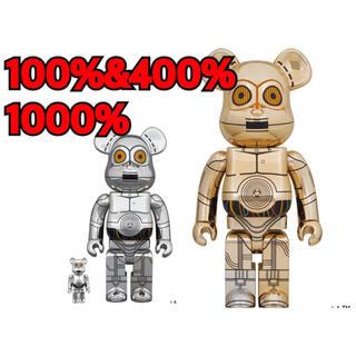 MEDICOM TOY - BE@RBRICK TC-14 100% & 400% C-3PO 1000%