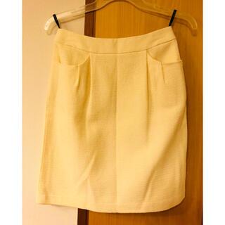 ロペ(ROPE)の#ROPE #シンプル #スカート(ひざ丈スカート)