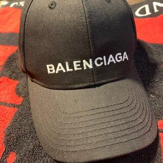 バレンシアガ(Balenciaga)のバレンシアガ・ブラックキャップ(キャップ)