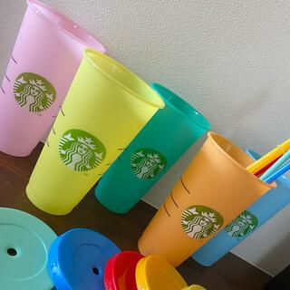 Starbucks Coffee - 【日本未入荷】色が変わる!リユーザブルカップ!