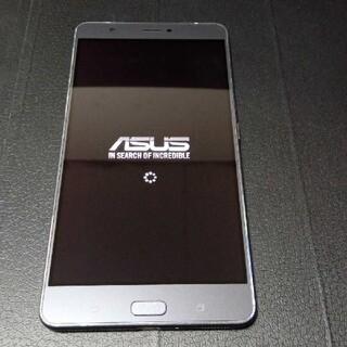 ASUS - ASUS Zenfone3 ultra ZU680KL  ダークグレー SIMフ