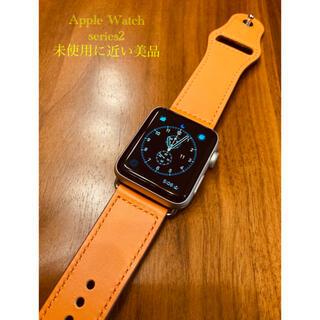 アップル(Apple)の【未使用に近い】Apple Watch シリーズ2  42mm(腕時計(デジタル))