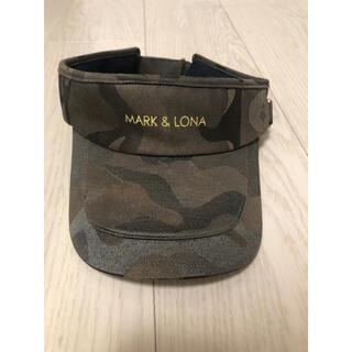 MARK&LONA - MARK&LONA マークアンドロナ カモフラ サンバイザー