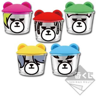 BIGBANG - ⚛️ BIGBANG×KRUNK 一番くじ グラス 5種セット
