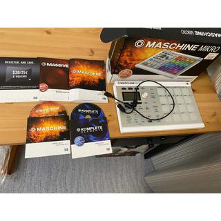コルグ(KORG)のMASCHINE Mikro MK2 白 Native Instruments (MIDIコントローラー)