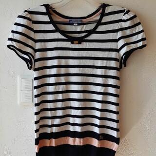 バーバリー(BURBERRY)のBURBERRY半袖ニット(Tシャツ(半袖/袖なし))