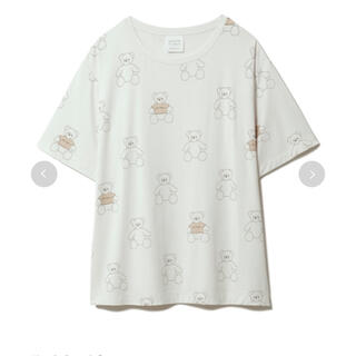 gelato pique - gelato pique×kotoka izumi コラボ ベアモチーフTシャツ
