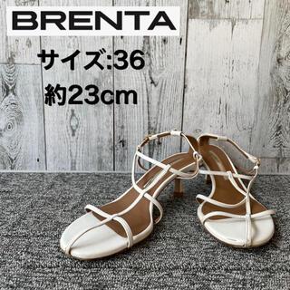イエナ(IENA)のBrenta ブレンタ サンダル スキニーストラップサンダル 36 約23cm(サンダル)
