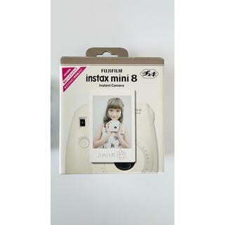 富士フイルム - FUJIFILM INSTAXMINI8 WHITE インスタントカメラ チェキ