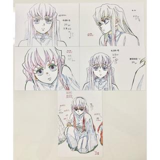鬼滅の刃 絵巻 展示原画ポストカード 時透無一郎 (カード)
